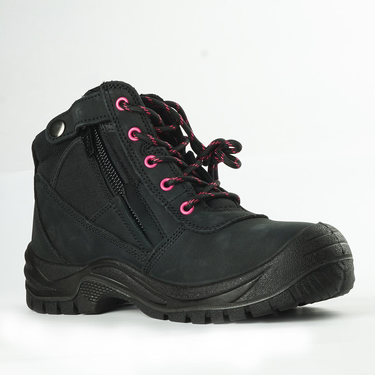 Buster Ladies Steel Black | Best Ever Boots